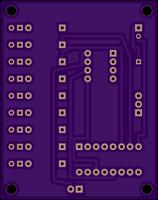 tinyEMF - PCB render (bottom)